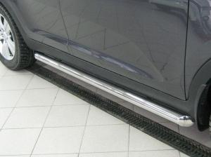 Mitsubishi Pajero Sport 2010  пороги труба d63 (вариант 1) PST-0009271
